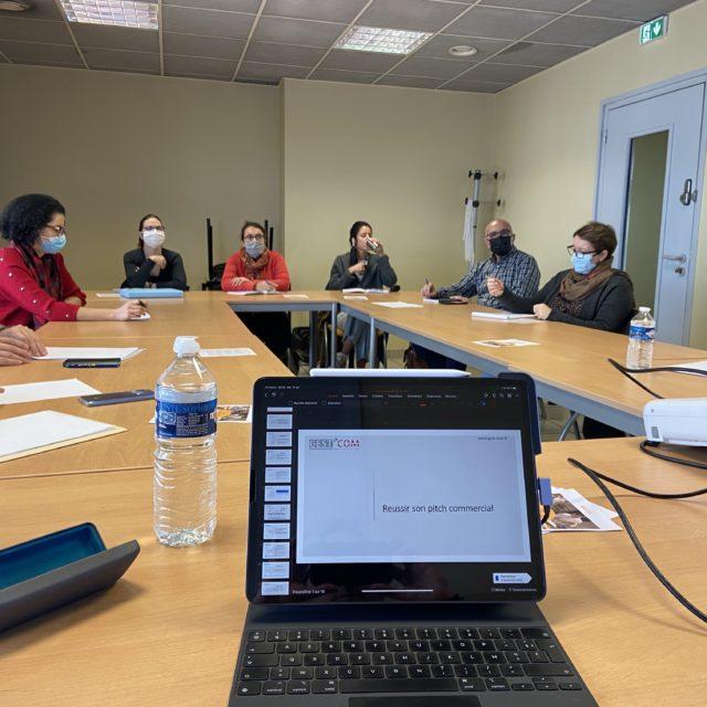 Atelier formation à la BGE Perspectives à Mâcon : Le pitch commercial «2 minutes pour convaincre»